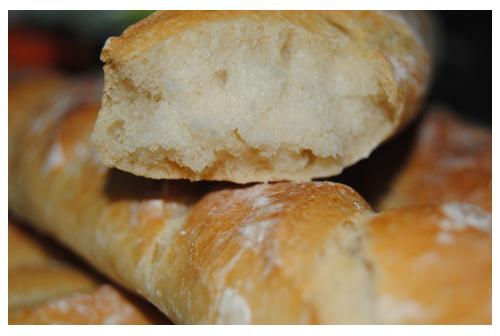 Baguettes de pain a l´ancienne