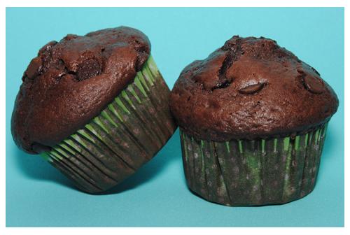 Muffins de choco starbucks