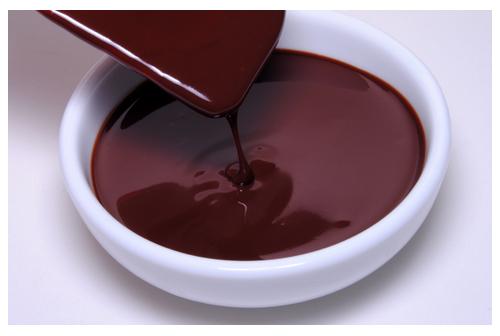 Ganaché de chocolate negro