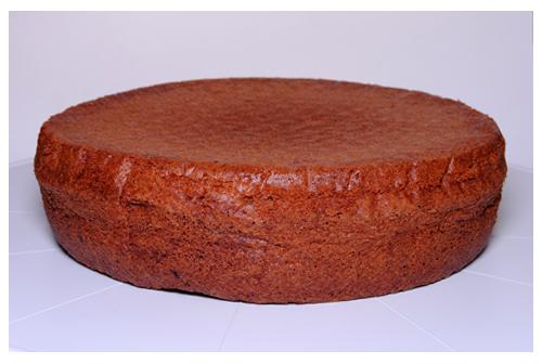 Bizcocho húmedo de chocolate de las Tartas de Mariana