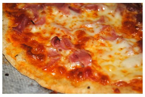 Masa pizza aromática