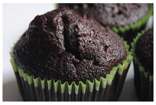 El mejor muffin de chocolate