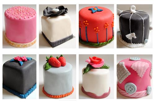 Mini Cakes Red Velvet