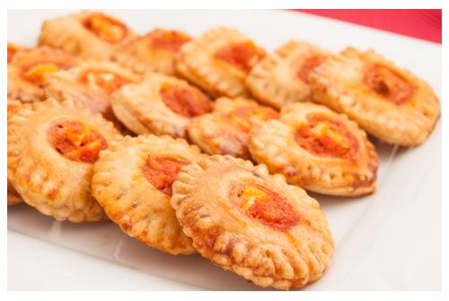 Mini emapanadillas de tomate Orlando