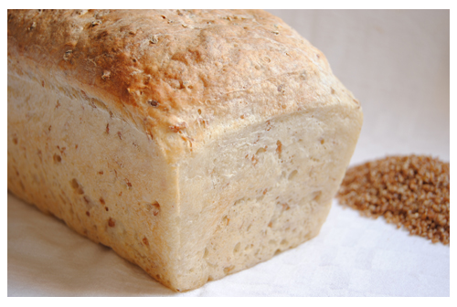 Pan de molde con Bulgur