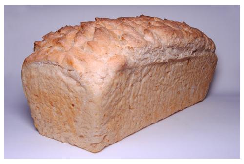 Pan de molde despeinado