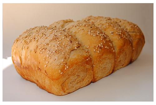 Pan de molde inglés en Horno Solar