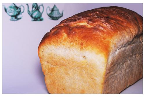Pan de molde de miel