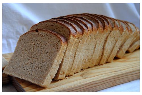 Pan de molde con semolina
