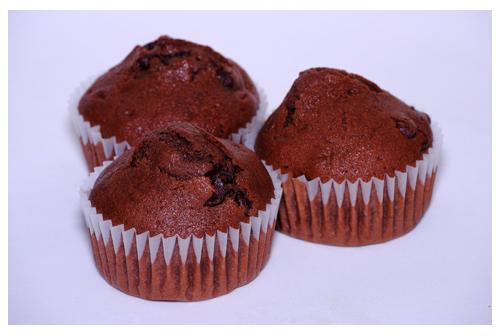 Muffins de chocolate al cardamomo