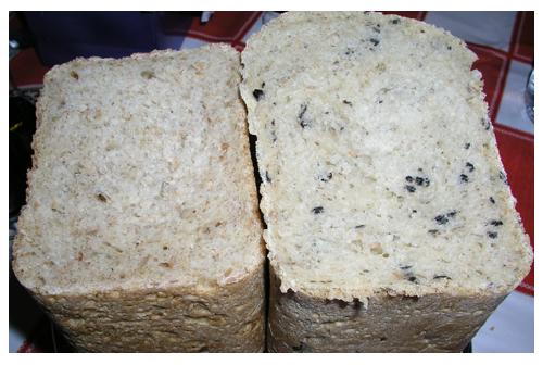Pan de olivas y pan de cebolla