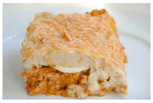 Pastel de carne y patatas
