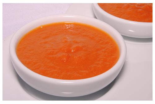 Salsa de tomate en microondas