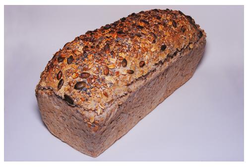 Pan de molde multicereales con semillas
