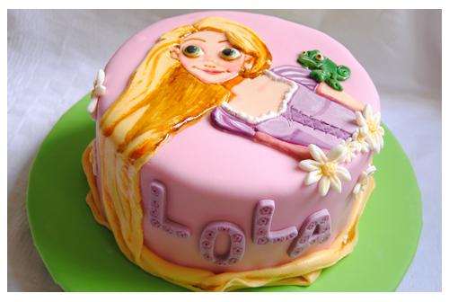 Tarta Rapunzel