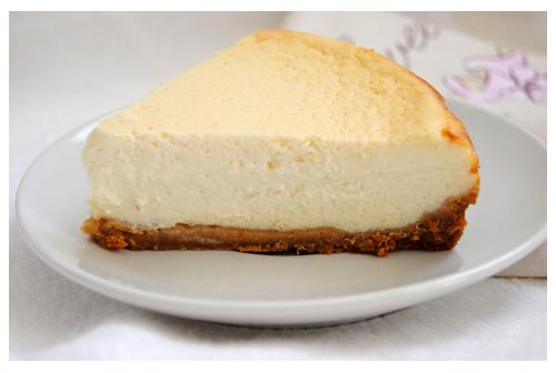 Tarta de queso al aroma de limón
