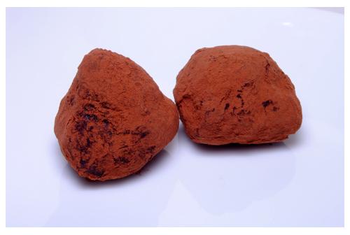 Trufas de chocolate al aroma de naranja