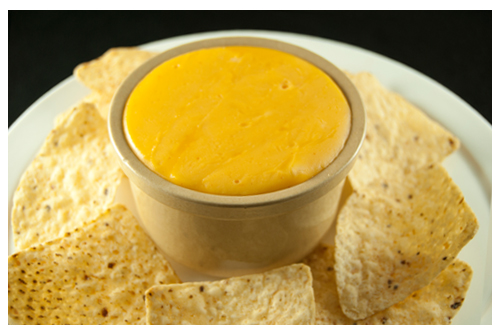 Crema de queso cheddar