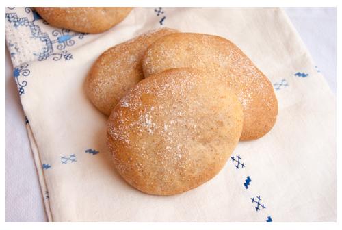 Molletes de pan con centeno
